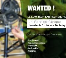 #WANTED / SC LOW-TECH EXPLORER – TECHNIQUE