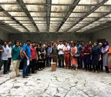Retour sur une semaine d'atelier design au Bangladesh