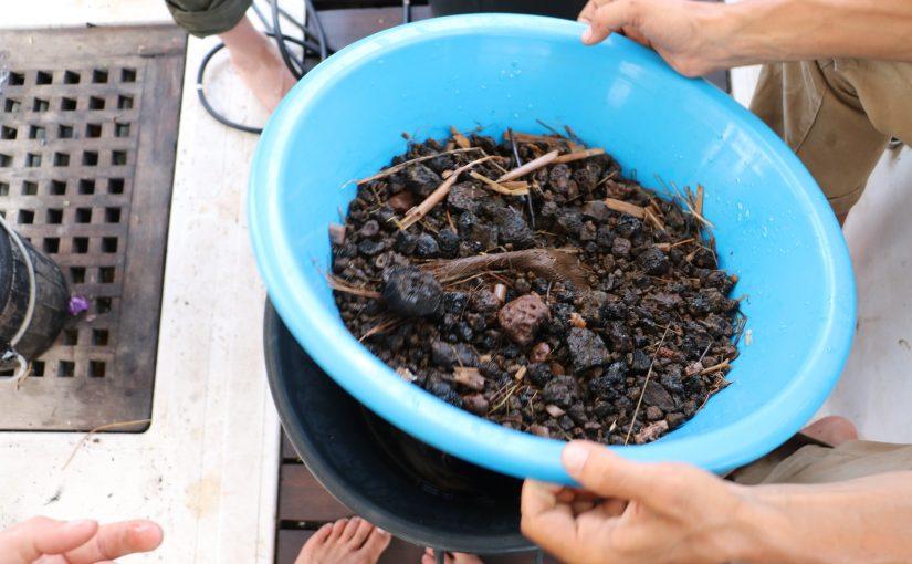 Le biofiltre pour des engrais 100% à base de matières organiques