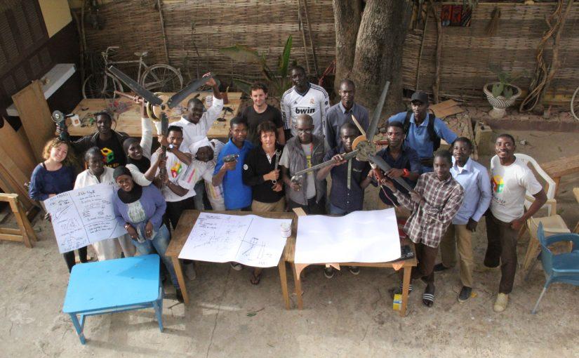 Escale à Dakar : Eolienne DIY avec Ker-Thiossäne (1/2)