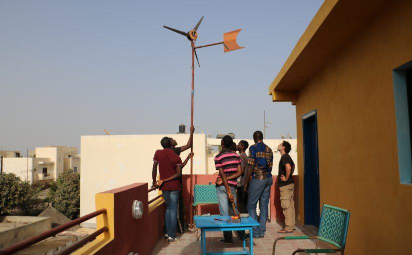 Escale à Dakar : Eolienne DIY avec Ker-Thiossäne (2/2)